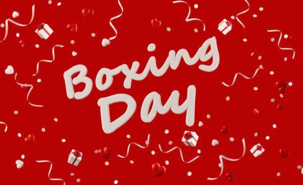Que es boxing day celebra