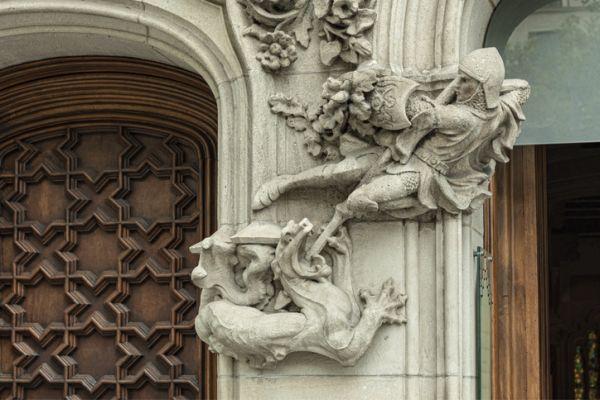 Estatua Sant Jordi