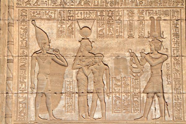 Dioses romanos y egipcios