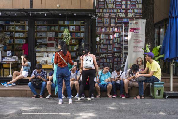 Librería gente