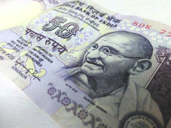 Billete Gandhi