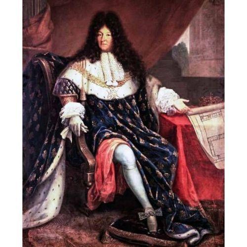 Luis XIV de Francia. Retrato