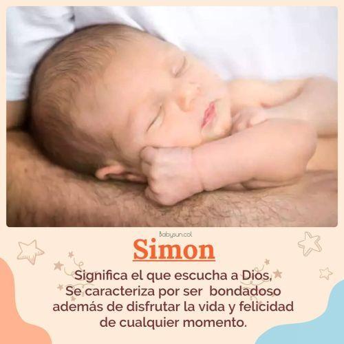 Nombre de Simón
