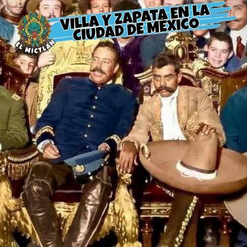 Villa y Zapara, líderes de México