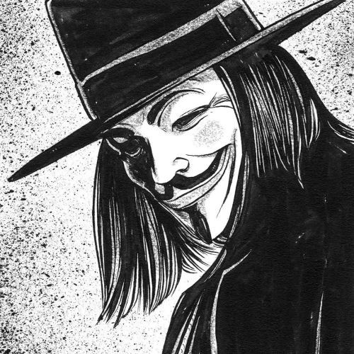 Guy Fawkes caricatura