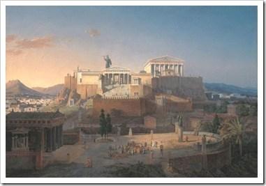 Acropolis, recreacion