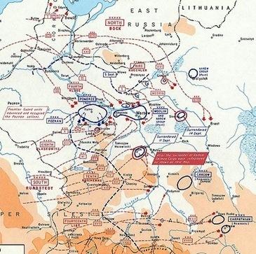 Mapa, campaña de invasión a polonia (1939)