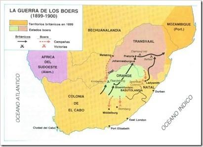 guerra de los boers_mapa