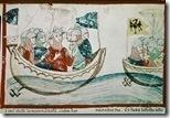 ITALIA ROMA BIBLIOTECA S LUIS IX PARTE A LA CRUZADA-CRONICA DE VILLANI(LUIS IX EL STO REY FRANCIA)