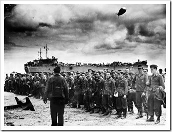 soldados alemanes capturados el dia D