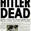 El suicidio de Hitler