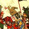 El caballero medieval en el combate