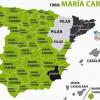 Los nombres mas comunes en España desde los años 60 hasta hoy