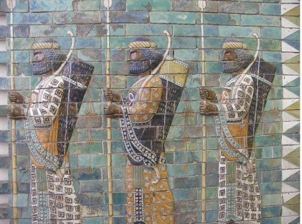 Arqueros Persas