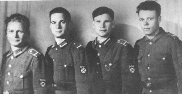 Miembros de la Wehrmacht