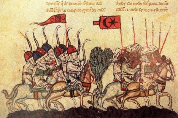 Batalla de Ain Jalut mongoles contra mamelucos