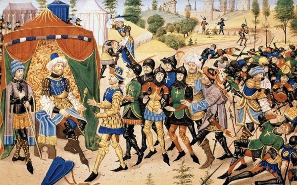 las-cruzadas-la-batalla-de-acre-batalla