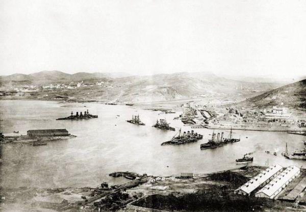 Flota Rusa en Port Arthur