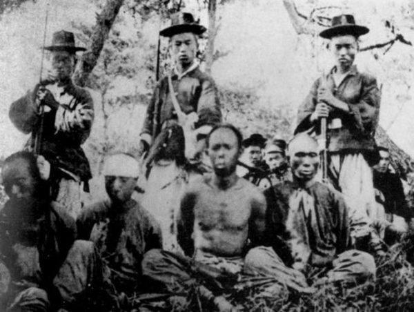 Prisioneros Chinos de la Guerra Sino-Japonesa