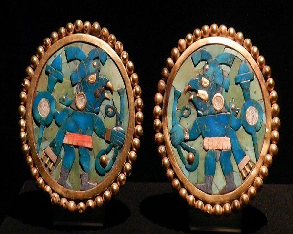 Cultura Mochica joyas