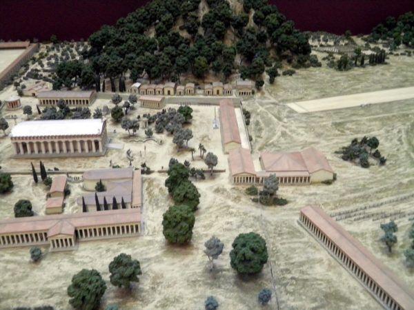 La Ciudad de Olimpia, lugar de celebración de los Juegos Olímpicos