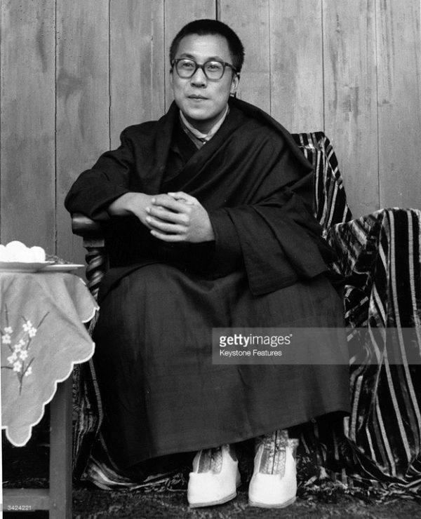Dalái Lama en la India
