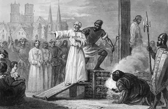 Ejecución de Jacques de Molay
