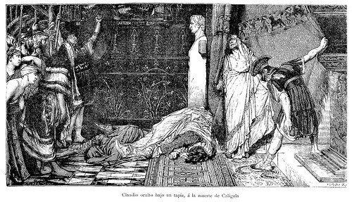 Muerte de Calígula a manos de su Guardia