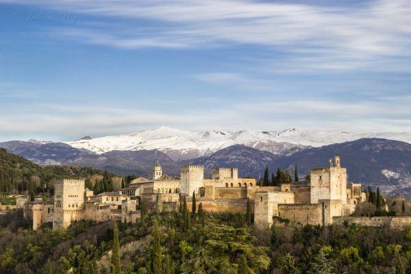 Vista de la Alahambra
