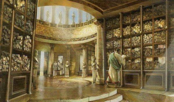 Biblioteca de Alejandría