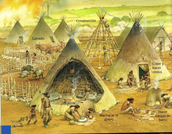 Primeros Asentamientos