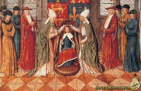 Coronación de Enrique VI