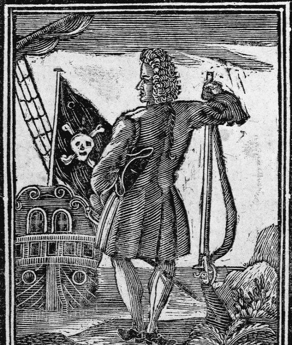 Jack Rackham ''Calicó Jack''. Famoso entre otras cosas por su forma de vestir, pirata de fama, osado y aventurero.