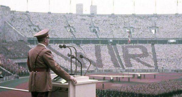 Discurso de inauguración de los que se llamaron los Juegos Olímpicos de Hitler 1936