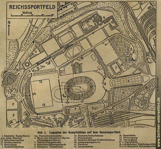 Planos de la Villa Olímpica