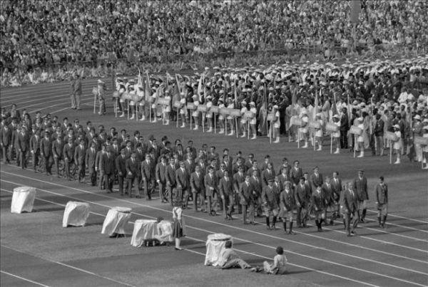 Ceremonia inaugural de los Juegos Olímpicos de Múnich 1972