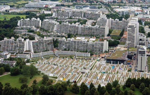 Villa Olímpica de los Juegos Olímpicos de Múnich 1972