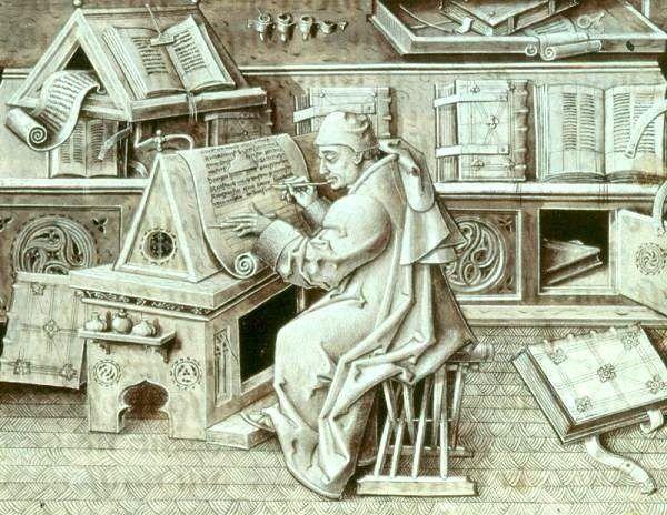 gutenberg-la-primera-revolucion-informatica-copista-medieval