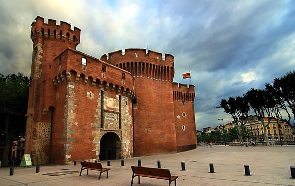 Castillo de Perpignan