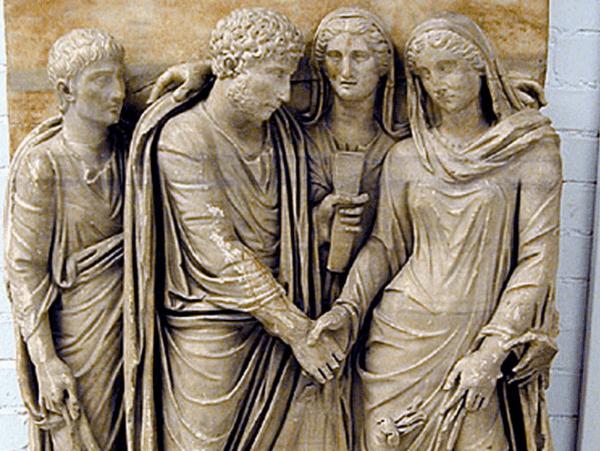 Origen Matrimonio Romano : Ser anciano en la edad media sobrehistoria