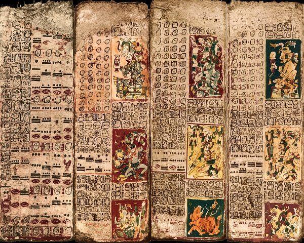 Códice Dresde Mayas