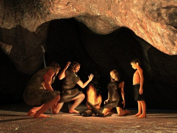 La cama en la prehistoria
