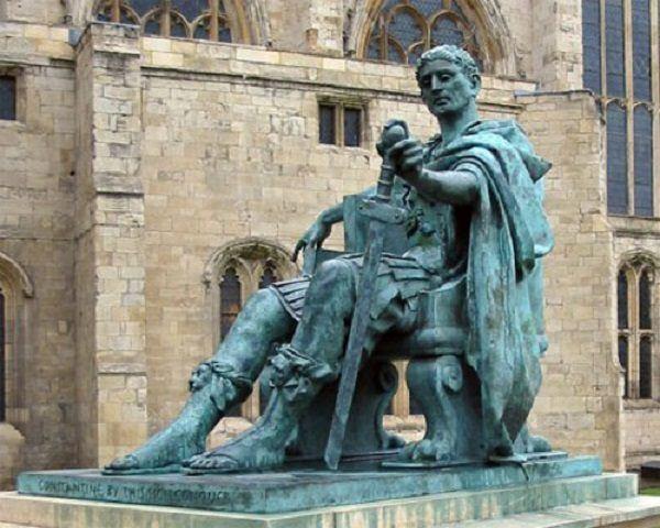 Emperador Constantino Personajes Antiguedad