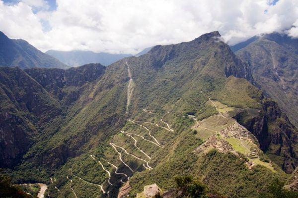 Quienes fueron los incas hileras de terrazas