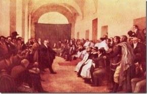 """La Revolucion de Mayo, el comienzo de la """"Historia Argentina"""""""