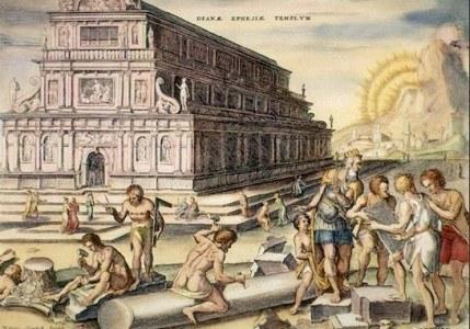 Maravillas del mundo antiguo: El Templo de Artemisa