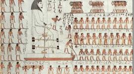 La construccion de las Piramides de Egipto