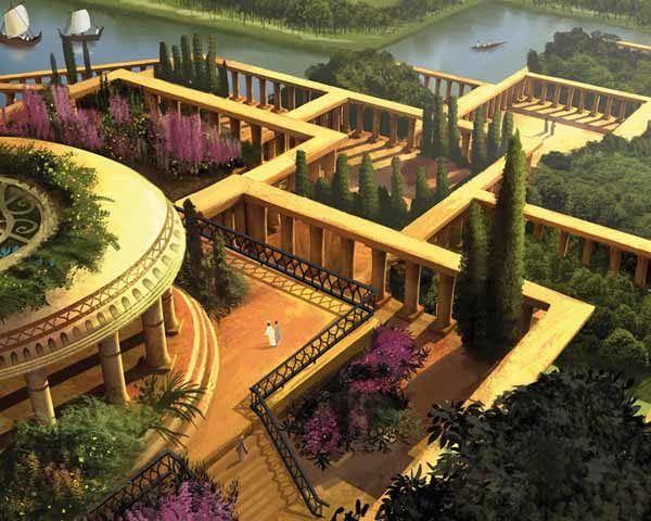 Los Jardines Colgantes De Babilonia Sobrehistoria Com