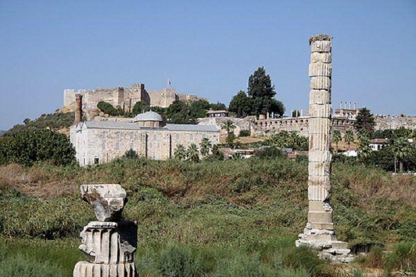 Restos Artemisa efeso