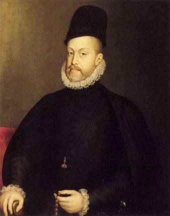 reyes-de-espana-los-austrias-mayores-Retrato-de-Felipe-II-por-Sofonisba-Anguissola